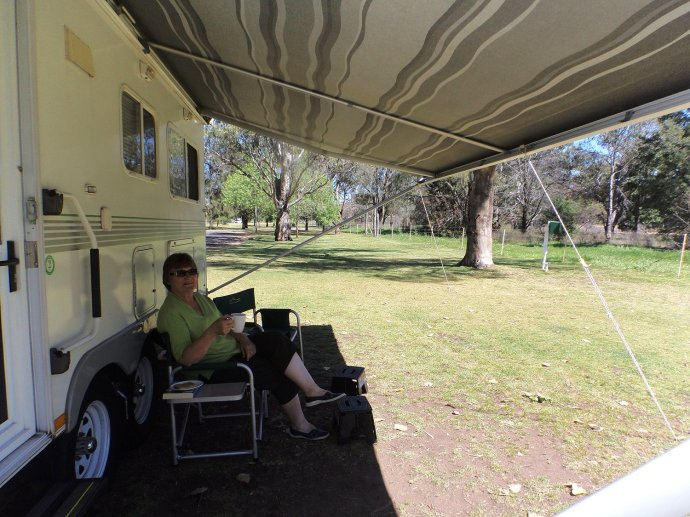 Bludging at Gilgandra
