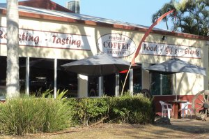 Coffee Roastery at Yandina near Ginger Factory