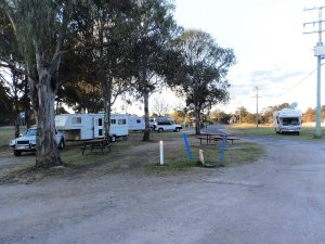 Overnight Stop at Jim Mitchell Park at Dalveen