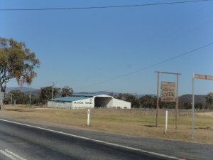 One of the many wineries along the New England Highway