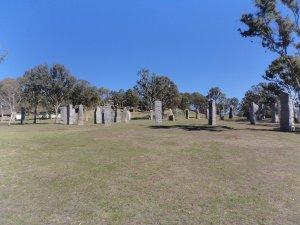 Australian Standing Stones at Glen Innes