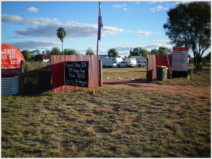 Caravan Park in Wyandra