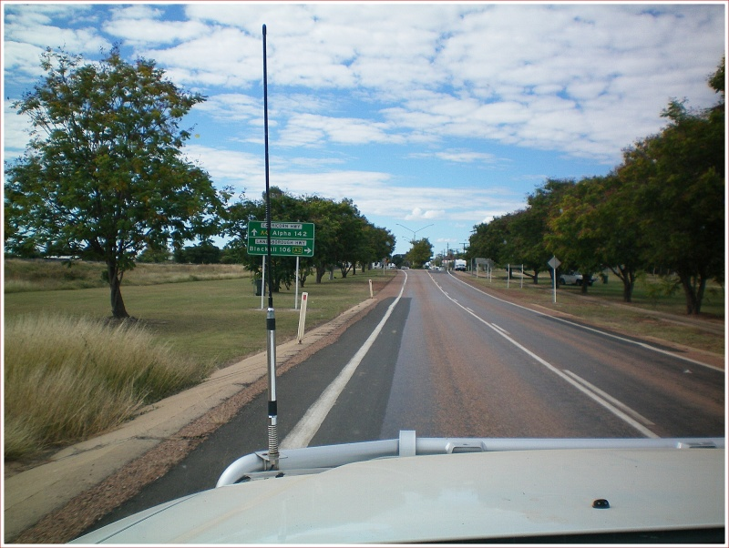 On the Way to Blackall