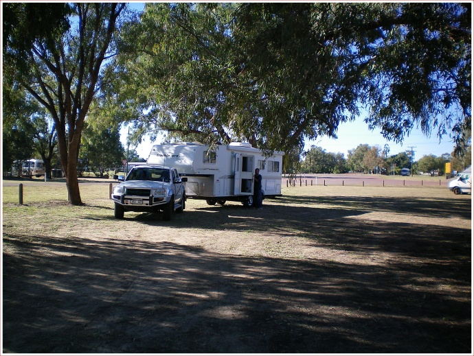 Packing Up at Barcoo River Camp, Blackall