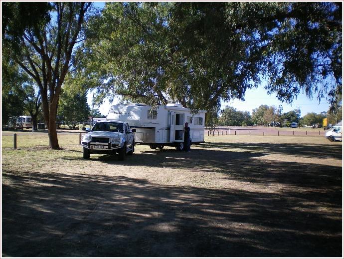 Packing Up at Barcoo River Camp, Blackall