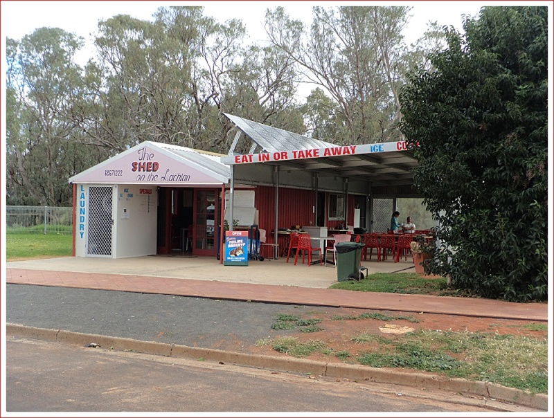 The Shed Cafe in Hillston