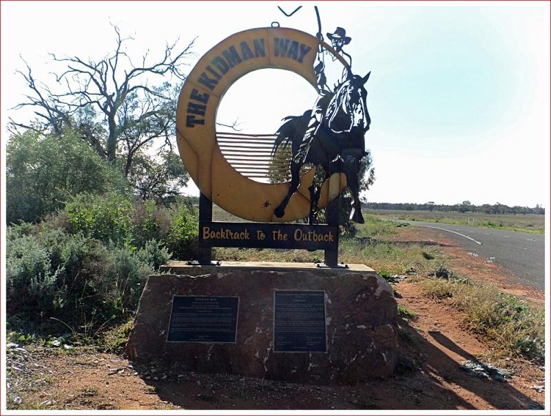 Kidman Way roadside sign