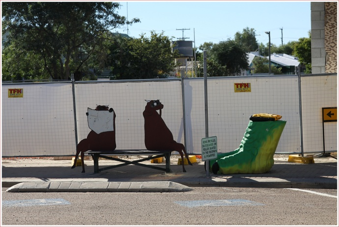 Interesting Street Sculptures in Winton