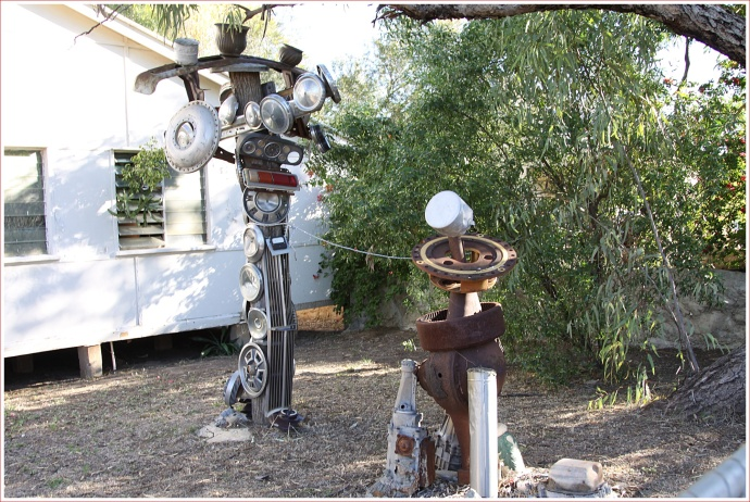 Interesting Sculpture in Winton