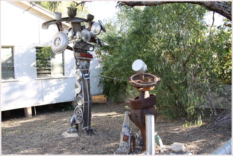 Interesting Sculpture in Winton