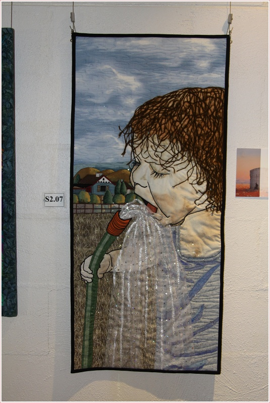 One of the Quilts on Display at the Waltzing Matilda Centre