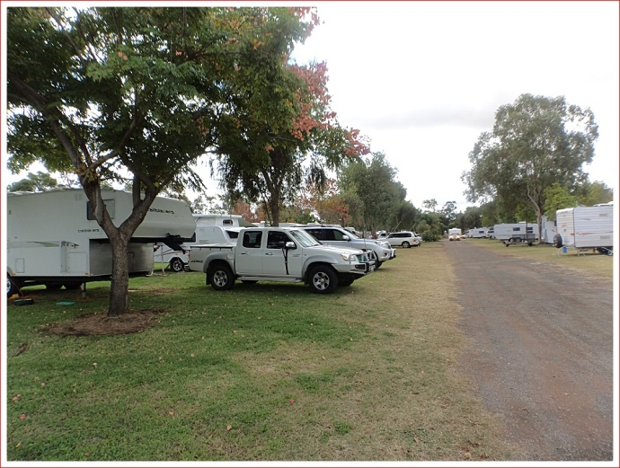 Set-Up at Kidman's Camp