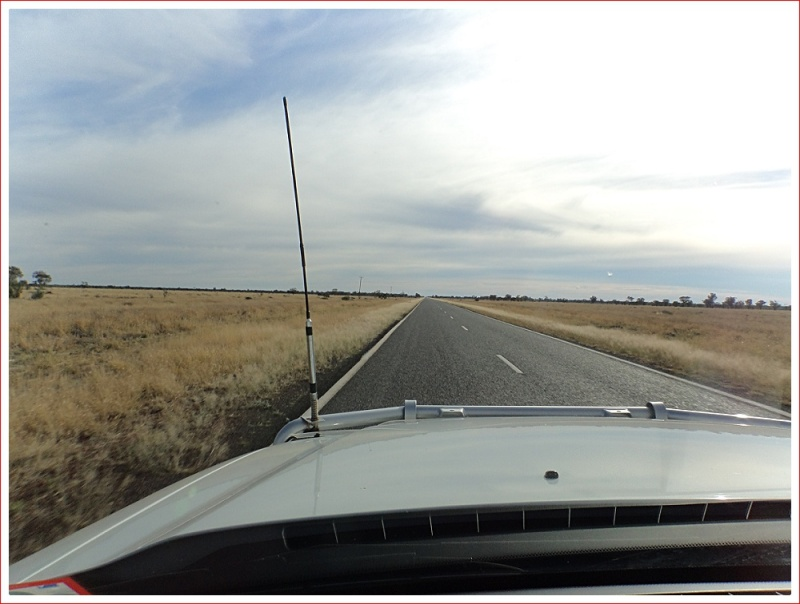 Heading North from Kidman's Camp