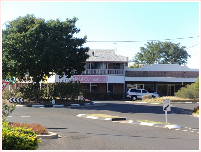 Streetscape in Cunnamulla