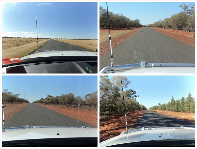 Varying landscapes on the way to St George