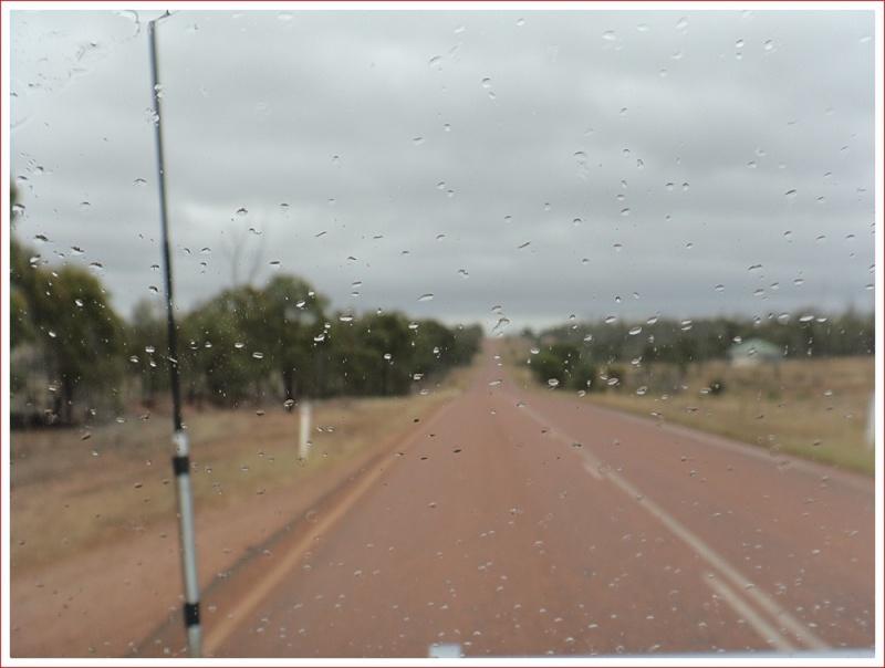The road seems longer in the rain