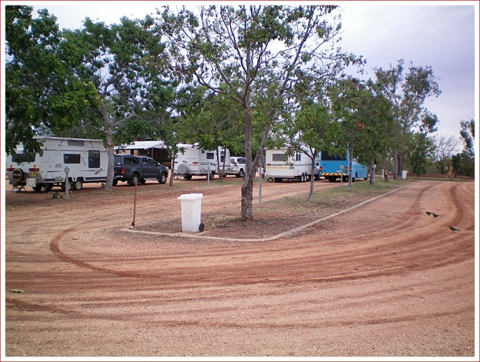 Interesting Set-Up at Belyando Crossing Caravan Park