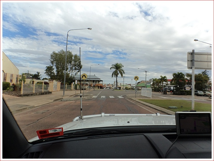 Arriving at Charters Towers