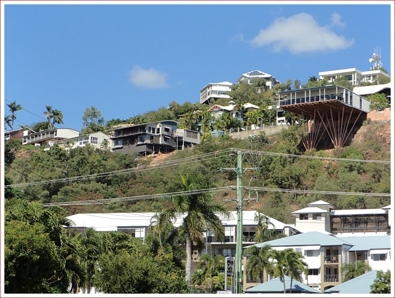 Spectacular Houses on the hill in Townsville
