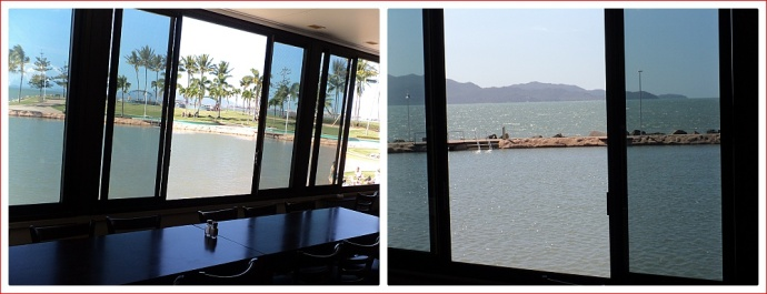 Views from Fish Inn to the Rock Pool and Magnetic Island