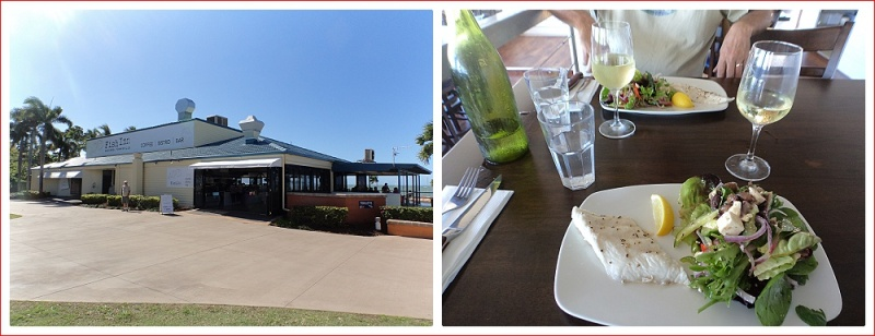 Lunch at the Fish Inn