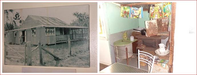 Displays at Herveys Range Heritage Tea Rooms