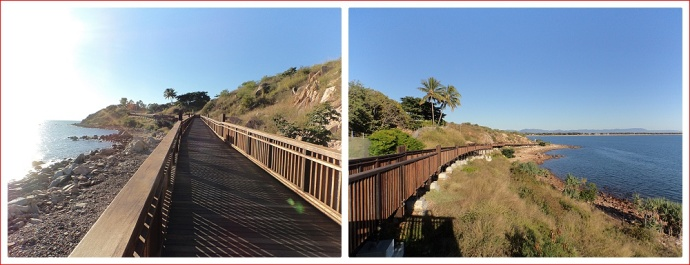 Boardwalk to Kissing Point