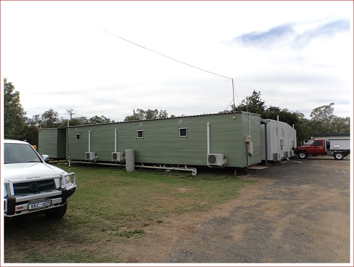 Workers' Units at Big Rig Caravan Park