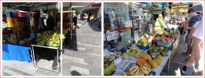 Food Stalls at Sunday Market