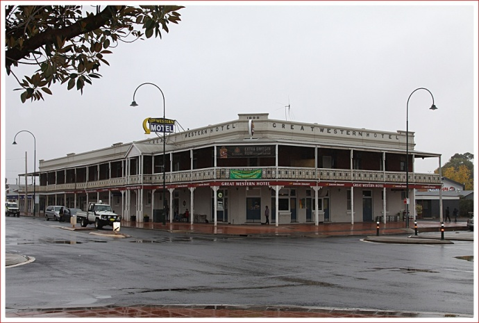 Great Western Hotel in Cobar