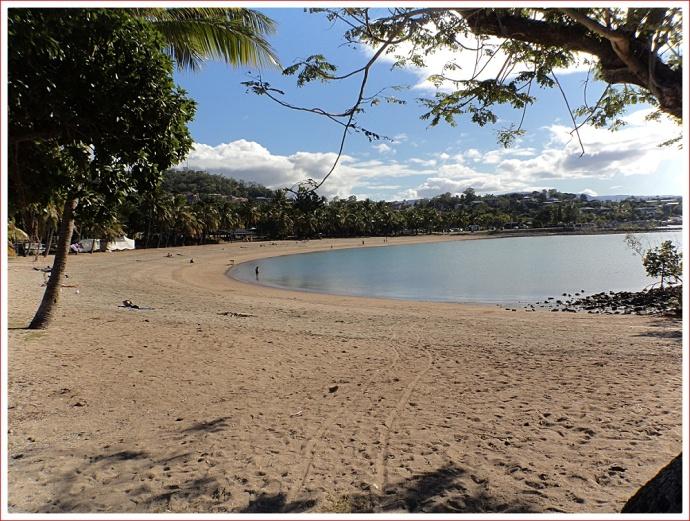 Beach at Airlie Beach
