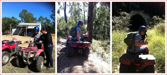 Quad Bike Adventure - photos by Tracey