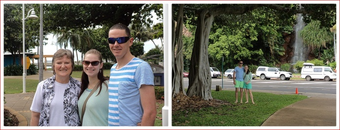 Katie and Mick Around Townsville