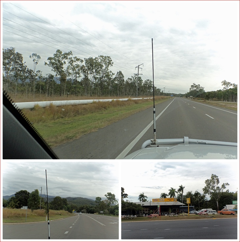 Landscape Leaving Townsville Heading North
