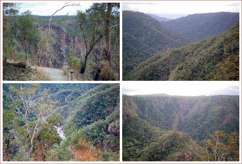 Views around Wallaman Falls and the national park