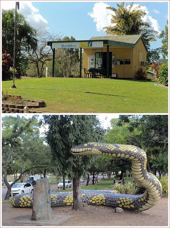 Ayr's Tourist Information Centre and Gubullamunda
