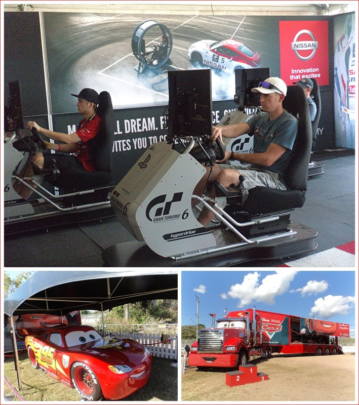 Scenes at the V8 Supercars Event