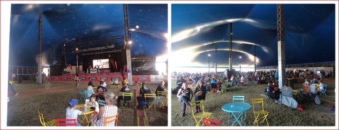 The Big Top at the V8 Supercars Event