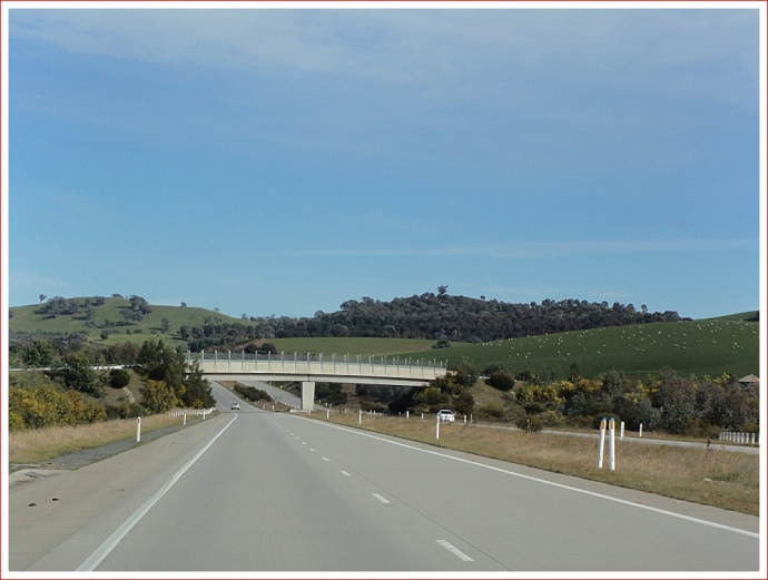 Scene along the Hume Freeway