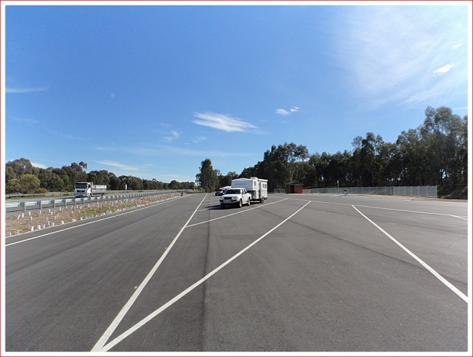 New rest area near Wangaratta