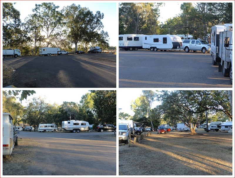 Views of Boyne River Rest Area free camp
