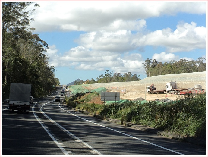 Major roadworks on the Bruce Highway