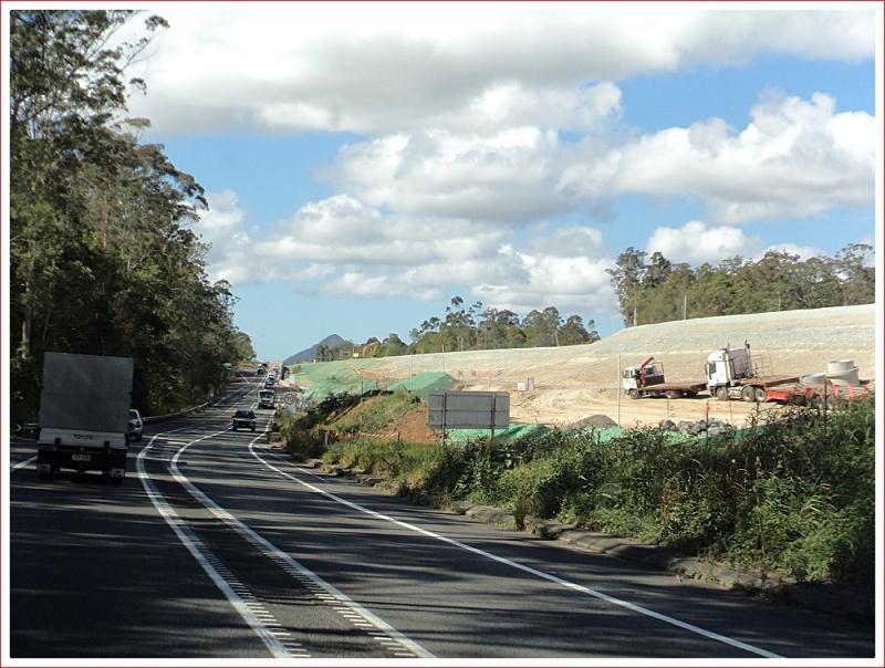 Major roadworks on the Bruce Highway