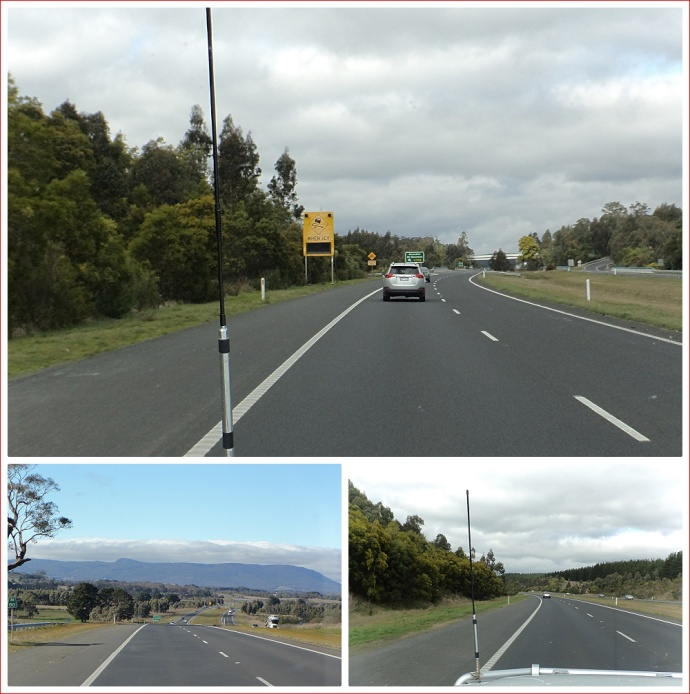 Views along the Calder Highway