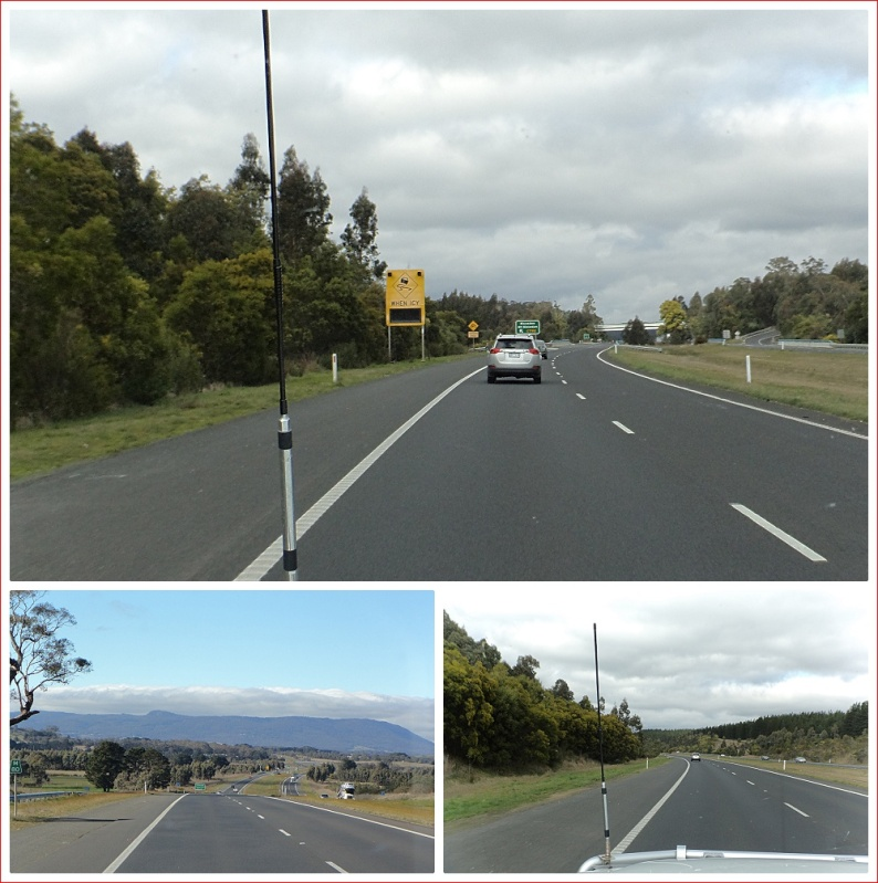 Views along the Calder Highway