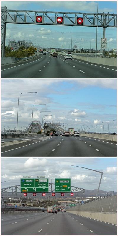 Gateway Bridge in Brisbane