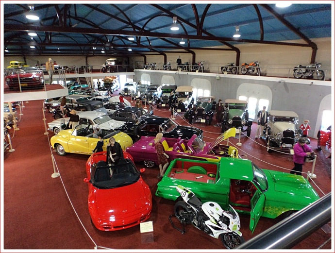 View of McFeeters Motor Museum, Forbes