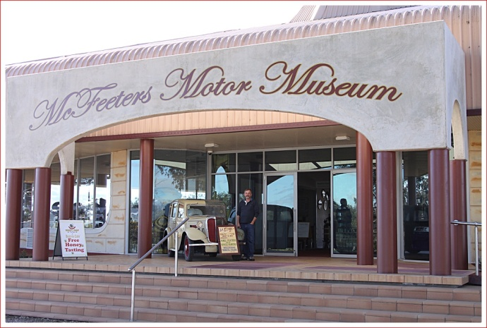 McFeeters Motor Museum, Forbes
