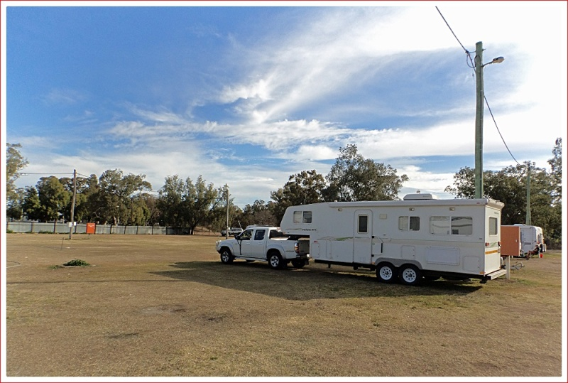 Plenty of room at Moree Show Grounds