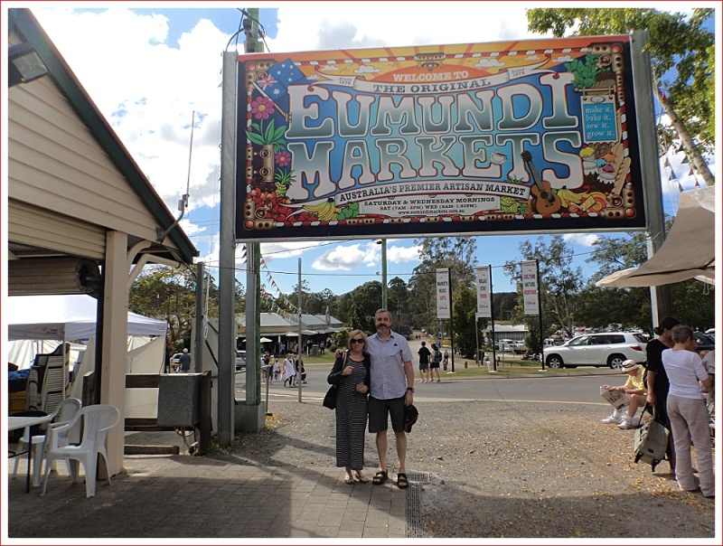 Neville and Mary at Eumundi Market
